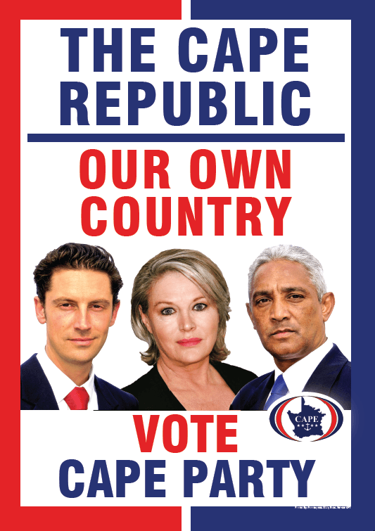 CAPE PARTY 2019 ELECTION POSTER