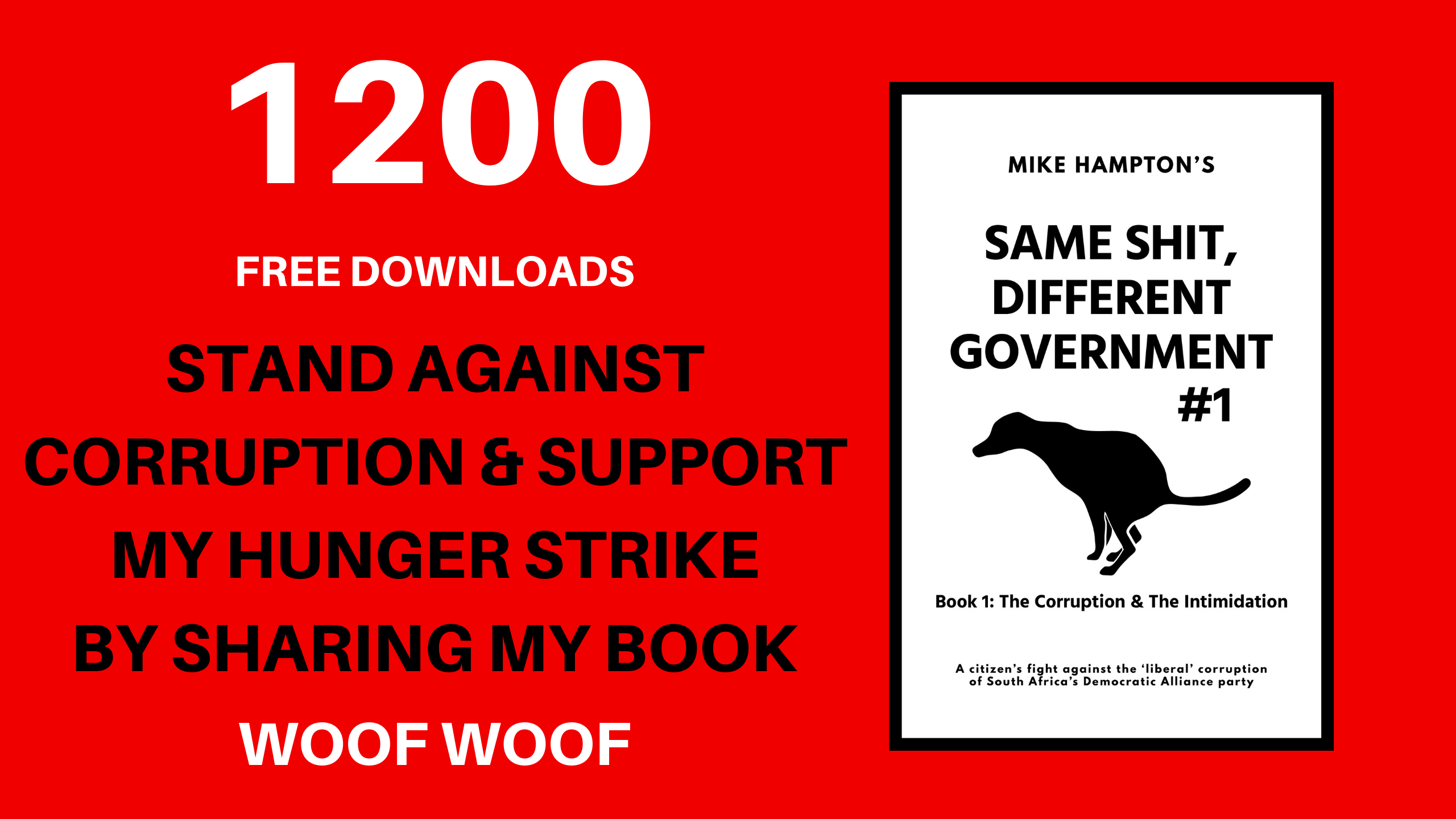 1200 FREE DOWNLOADS Same Shit Different Government - Mike Hampton