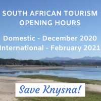 South African Tourism closed - Saved Knysna