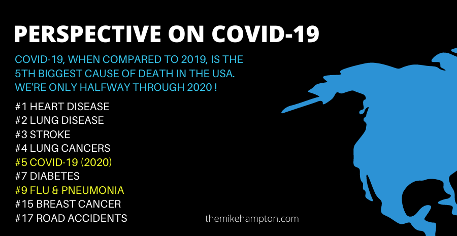 Covid-19 5th biggest cause of death in USA only halfway through year