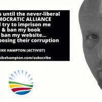 Democratic Alliance attempting to silence Mike Hampton